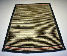 Hand Woven Green Striped Designer Jute Living Room Rug Home Decorative 4x6 Ft