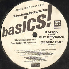 VARIOUS - Going Back To Basics - 1990 - BTbtech - 12 TEK 42 - Swe