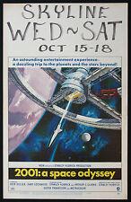 2001 A SPACE ODYSSEY STANLEY KUBRICK SCI-FI 1968 WINDOW CARD MOVIE POSTER
