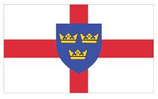 2 X EAST ANGLIA EMBLEM FLAG VINYL STICKERS CAR VAN TRUCK TAXI LORRY