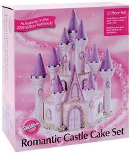 Wilton 301 910 Romantic Princess Castle Birthday Cake Set
