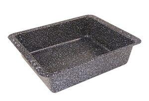AUFLAUFFORM TIEF (3524) Granito 28,5x23 cm Antihaft Backblech Lasagneform Bräter