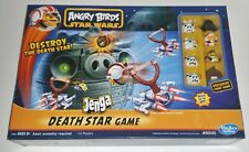 Angry Birds Star Wars Fighter Pods Jenga Catapult Destroy the Death Star