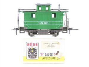 O Scale 2-Rail Atlas 6255 4-Wheel Center Cupola Transfer Caboose #6255