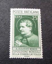 Vatican City  Stamp Scott#  49 St. John Bosco  1936  MH  L99