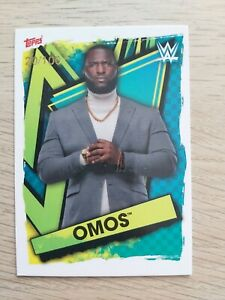 Topps WWE Slam Attax 2021 Exclusive OMOS 20/100 card