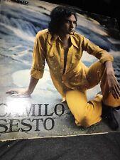 "Camilo Sesto LP 12"" Two Record Set: Rasgos and Self Titled 1974 PTS 1011 & 1015"