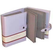 Large Little Book Of Earrings Lilac 4 Page Jewellery Storage Box Book Tree Gift