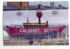 rp09491 - Calshot Spit Lightship in Southampton Docks - photo 6x4