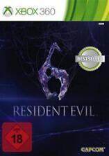 Xbox 360 Resident Evil 6 Deutsch Gebraucht/Neuwertig