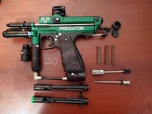 Used Inception Designs Retro Mini Predator Autococker Deadlywind Barrel