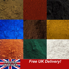 More details for dye pigment colour powder for cement concrete mortar: charcoal black terracotta