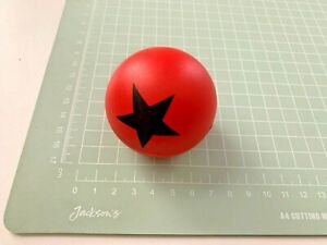 BLACK STAR, Red Plastic Herb Grinder  [ RED ] With Storage Compartment