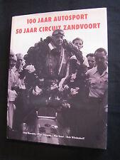 NBI Book 100 Jaar Autosport 50 jaar circuit Zandvoort, Buwalda, Dijkman (MBC)