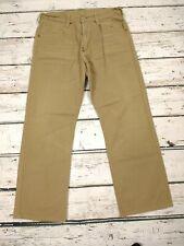 Mens G Star Raw 5530 Grader Stone Khaki Jeans Chore Pants W34