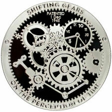 1 oz T.I.M.E. Series Shifting Gears Silver Round (Proof Like, Lot of 2)