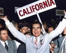 Richard Nixon at Republican Convention in 1952 8x10 RARE COLOR Photo 601