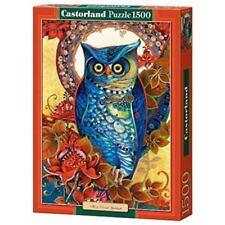 Puzzles bleus en carton art