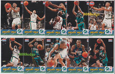 1996-97 FLEER SPRITE SPECIAL ISSUE 10 CARD COMPLETE SET: GRANT HILL -PISTONS HOF