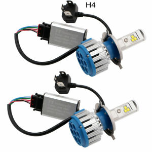 T1 Turbo Car Headlight H4 LED Bulbs High Low Beam 70W 7000LM 6000K Auto Canbus