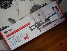"""La correcta del brazo del oscilación de inclinación TV de montaje en pared para TV Plano/Curvo hasta 70"""" P-SWB463B-1"""