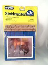 Breyer Stablemate Horse and Foal Set 49952 Prancing Morgan Cross Stallion Foal