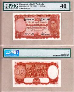 1942 10/ KGVI Commonwealth of Australia. PMG EF40. Renniks R13