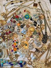 Vtg '60's'70's,'80's '90's Costume Jewelry Resell Necklaces Rings Pins ER Bracel