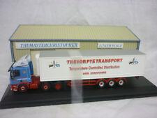 Oxford Diecast/Modern 1:76th Truck DAF85 Fridge Trevor Pye 76DAF004