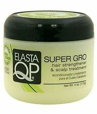 Elasta QP Super Gro Hair Strengthener - Scalp Treatment, 4 oz