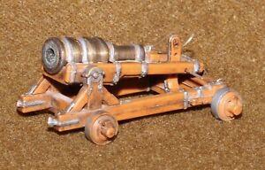 Vintage Hausser Elastolin Plastic Haufnitze (Howitzer) Cannon Model 9800 7cm