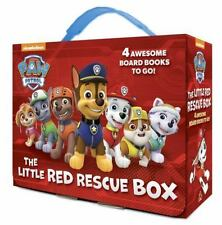 The Little Red Rescue Box (PAW Patrol) Board Book Baby and Preschool