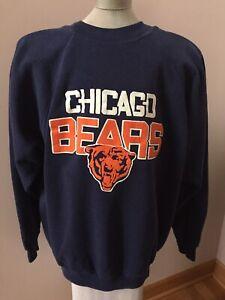 Vintage Chicago Bears Navy Sweatshirt Size XL