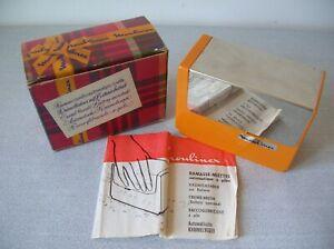 Ancien ramasse miettes Moulinex avec boite et notice des années 1970