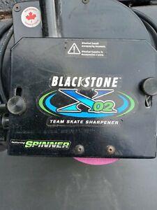BLACKSTONE X02 Team Skate Sharpening Sharpener Machine - EXCELLENT CONDITION