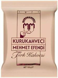 Turkish Coffee Greek Coffee 100g Turk Kahvesi Mehmet Efendi Traditional Coffee