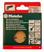 Metabo 24072 100x Haft - Schleifblätter 80mm P60