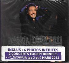 DOUBLE CD DIGIPACK 19T FRÉDÉRIC FRANCOIS TOUR 2011 SPECTACLE ANNIVERSAIRE NEUF