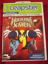 Leap Frog - Leapster Learning Games - Wolverine X-Men - K-2 New