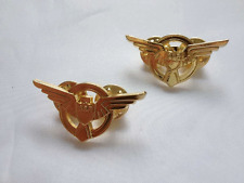 Pair Strategic Scientific Reserve Lapel SSR Pin Captain America Agent Carter Pin