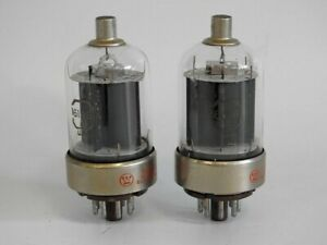 PAIR OF USED AND TESTED FULL OUTPUT WESTINGHOUSE 6146A RF TUBES