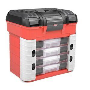 Corally Pit Case 4 Assortment Box Drawers Universal Precut Foam C-90251