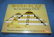 Word Play Board Game - Fun and Excitement In A Game That Plays On Words-1980-NEW