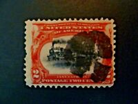 USA 1901 $.02 #295 Pan-American Expo Issue EFO Used - See Description & Images