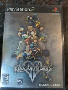 Kingdom Hearts II (Black Label) PS2 Brand New Factory Sealed Gradable*