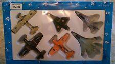 Dayton Hudson Die Cast Gift Set Military Aircraft 1995.