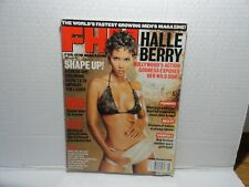 FHM - FOR HIM MAGAZINE - JUNE 2001 - HALLE BERRY ON COVER