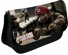 MARIO CALL OF DUTY PERSONALISED PENCIL CASE