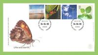 G.B. 2000 Life and Earth set u/a Royal Mail First Day Cover, Bureau