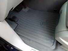 2008-2017 Buick Enclave OEM Complete 3 Row Titanium Premium Rubber Mat Set NEW